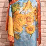 A vase with twelve sunflowers Vangogh