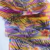 Hawaii Hand painted 100% silk scarf. Colourful summer accessory
