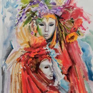 Venetian Masks. Carnival